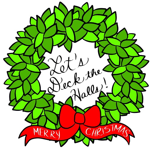 Let's Deck The Halls. Free Merry Christmas Wishes eCards   123 Greetings