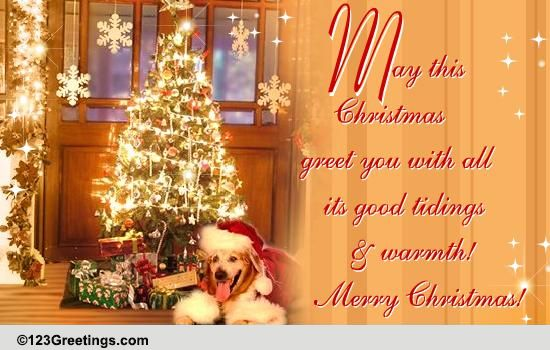 My Wishes For You Free Merry Christmas Wishes Ecards Greeting Cards 123 Greetings