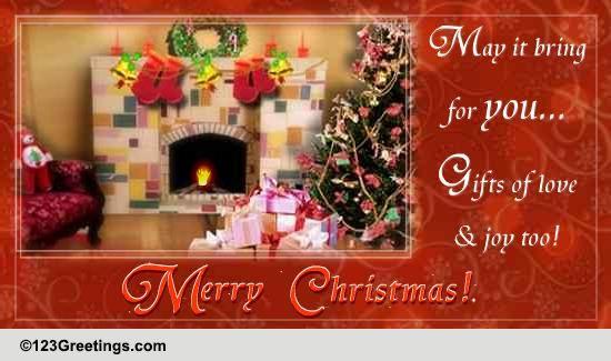 Christmas Cards, Free Christmas eCards, Greeting Cards | 123 Greetings