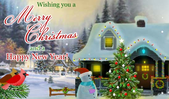 Send Merry Christmas Greetings!