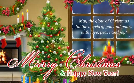 Wishes And Blessings... Free Merry Christmas eCards, Greeting Cards  123 Gre...