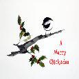 A Merry Chickadee.