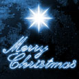 Classic Merry Christmas Card.