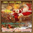 Santa Wishes You Merry Christmas.