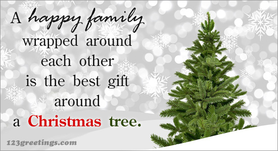 Merry Christmas Family.Happy Christmas Family Free Merry Christmas Quotes Ecards