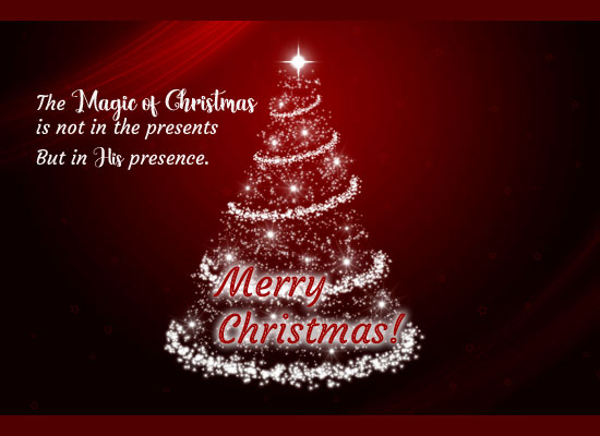 Merry Christmas Quotes.The Magic Of Christmas Free Merry Christmas Quotes Ecards