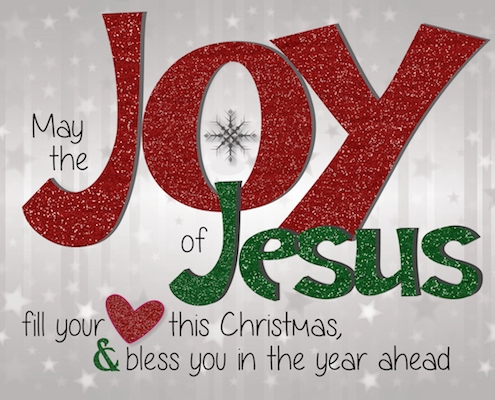 The Joy Of Jesus.