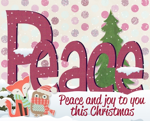 Peace And Joy To You.