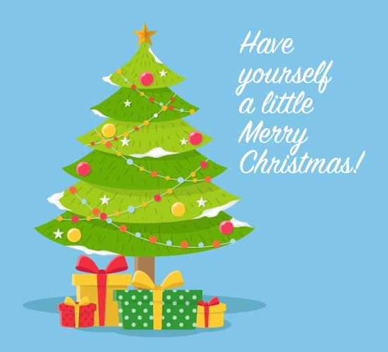 Merry Little Christmas.