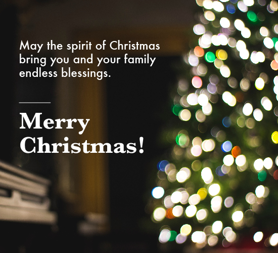 The Spirit Of Christmas To All.