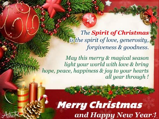 Free Religious Christmas Ecards