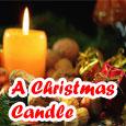 A Christmas Candle...