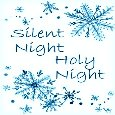 Silent Night Greeting.