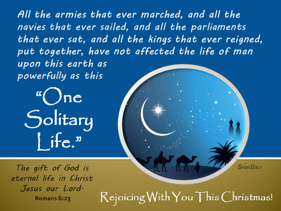 Rejoicing With You This Christmas.