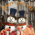 Christmas Snowman Dance.