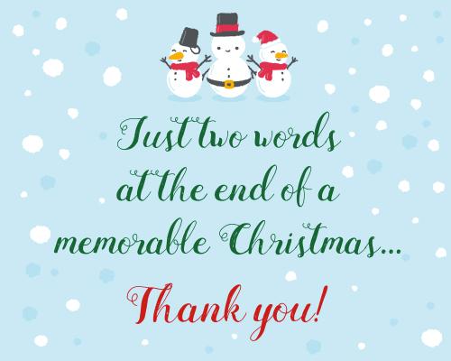 Memorable christmas free thank you ecards greeting cards 123 memorable christmas m4hsunfo