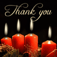 Candle Light Warm Thank You  Wishes.