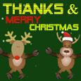 Thanks & Merry Christmas!
