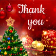 Christmas Thank You & New Year Wishes.