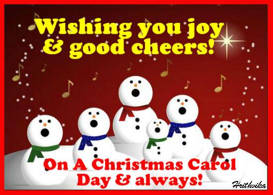 Joy And Good Cheers.