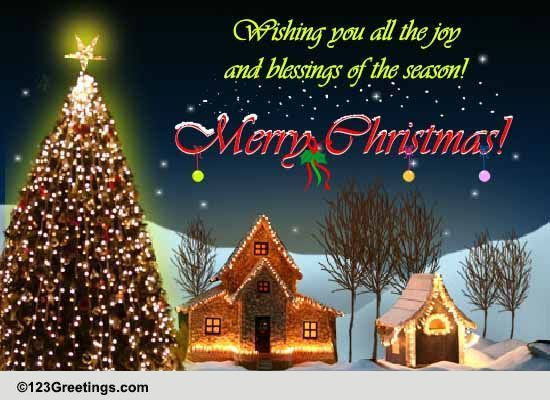 Send Christmas Card Day Greetings!