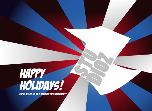 Happy Holidays From Z Studioz!
