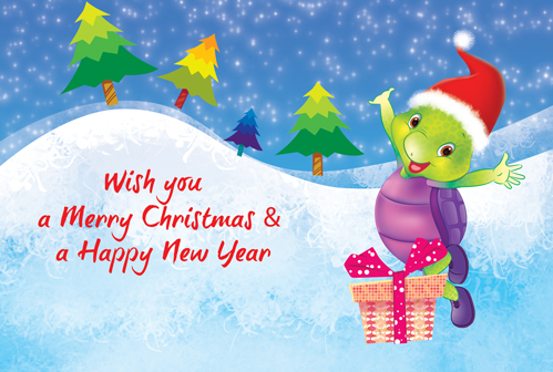 Merry Christmas Ecard. Free English eCards, Greeting Cards | 123 ...