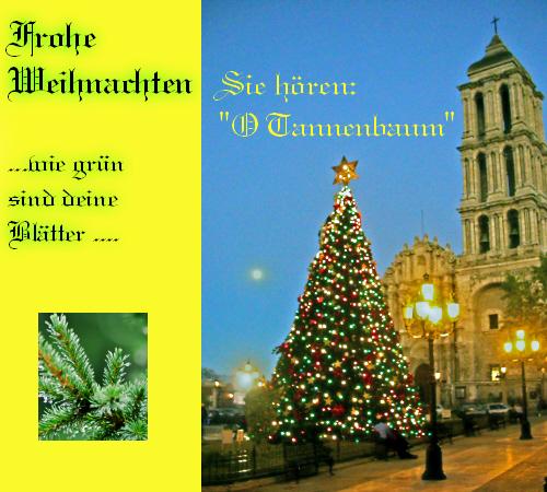 frohe weihnachten mit o tannenbaum free german ecards. Black Bedroom Furniture Sets. Home Design Ideas