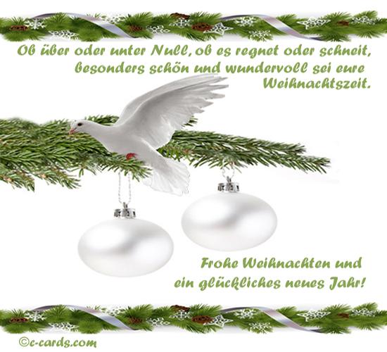 Wundervolle Weihnachtszeit.