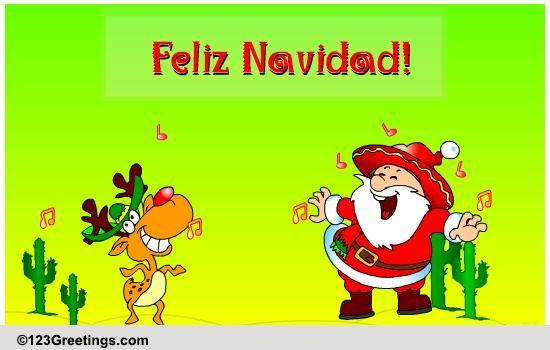 Christmas Around the World Spanish Cards, Free Christmas Around ...