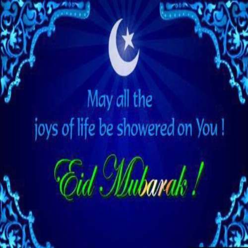 Eid Mubarak To All My Friends.