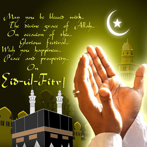 Wishing You The Best Of Eid ul-Fitr...