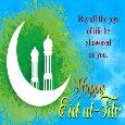 Home : Events : Eid ul-Fitr 2018 [Jun 16] - A Happy Eid ul-Fitr Celebration Card.
