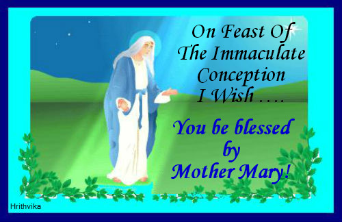 Holy Blessings From Mother Mary.