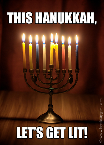 This Hanukkah, Let's Get Lit!