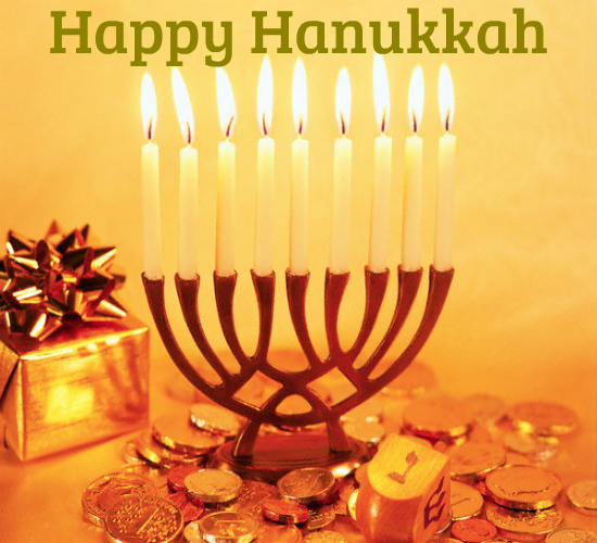 With Best Wishes Of Hanukkah For You.