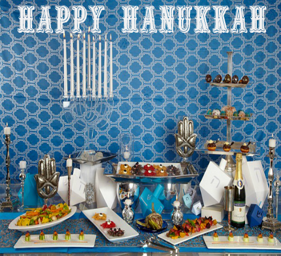 May You Have A Joyous Hanukkah.