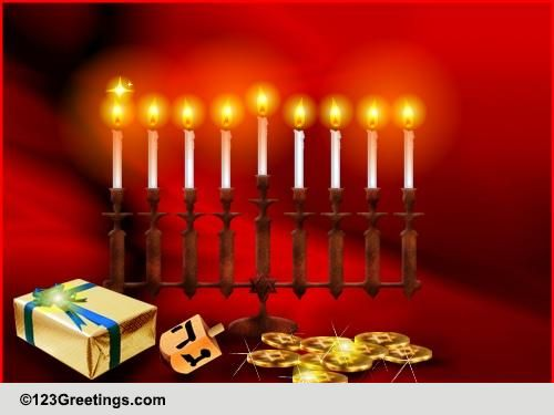 Hanukkah cards free hanukkah wishes greeting cards 123 greetings m4hsunfo