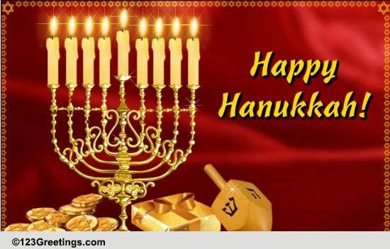 Send Happy Hanukkah Wishes Free Happy Hanukkah Ecards