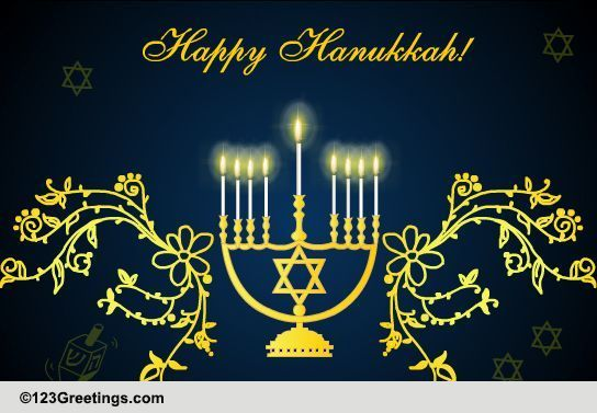 For You And Your Family Free Happy Hanukkah ECards