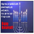 Blessed Hanukkah Wishes.