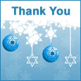 Heart Full Of Thanks On Hanukkah.