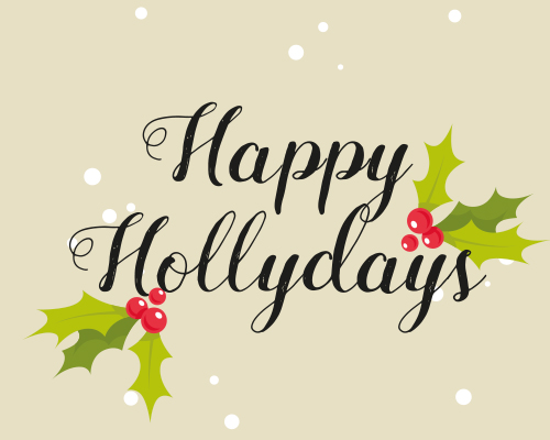 Happy hollydays free happy holidays ecards greeting cards 123 an elegant card to wish one and all greetings for the holidays m4hsunfo