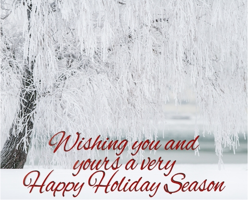 Holiday Wishes For You And Yours...