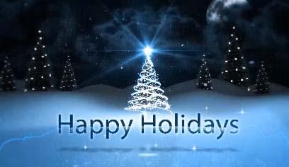 Happy Holidays & Season's Greetings. Free Happy Holidays ...
