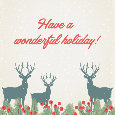 Wonderful Holiday Deers!