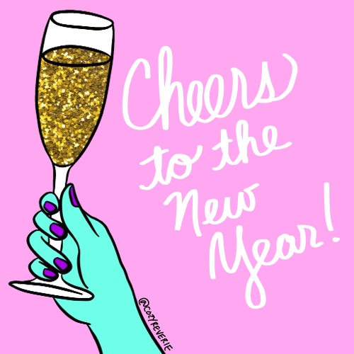 Cheers To The New Year.