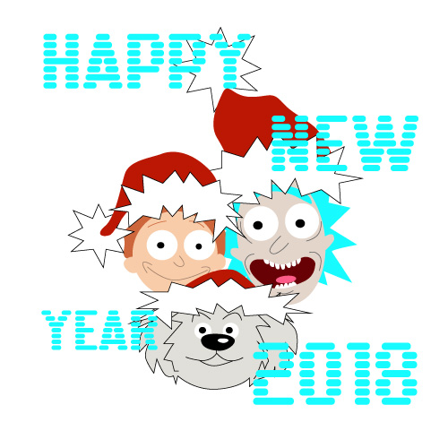 Happy New Year 2018. Free New Year\'s Eve eCards, Greeting Cards ...
