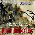 In Remembrance Of Pearl Harbor.