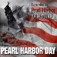 Remembering Pearl Harbor.
